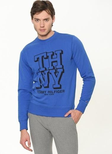 Tommy Hilfiger Sweatshirt Mavi